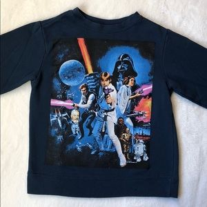 3/$25 Gymboree Star Wars sweatshirt